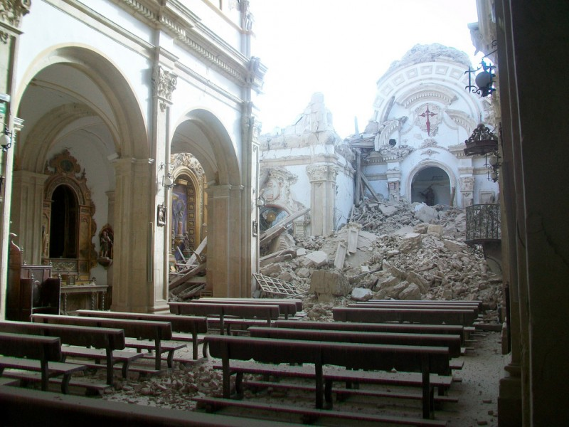 Lorca history: Lorca earthquake May 2011