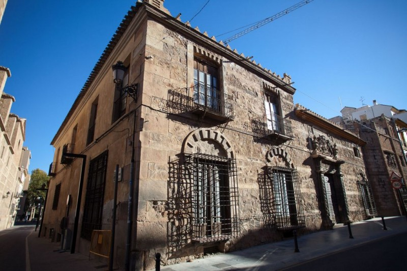 The Palacio de los Condes de San Julián in Lorca