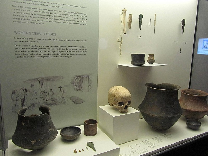 The archaeological museum in Lorca