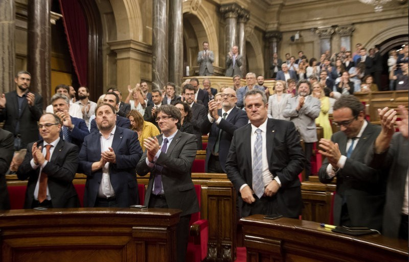Catalan president promises independence declaration in a matter of days