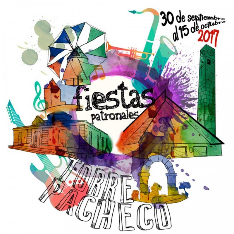 5th to 15th October Torre Pacheco fiestas patronales