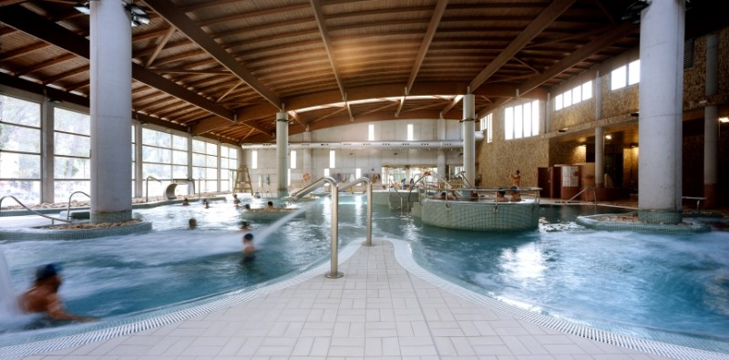 Accomodation at the Balneario de Archena thermal baths spa and hotel complex