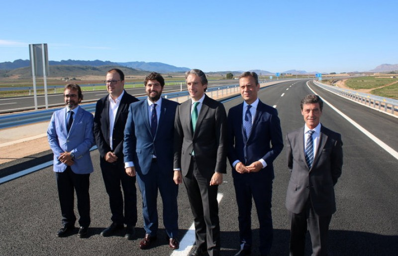 Jumilla-Yecla motorway officially opened