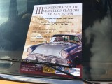 5th November, classic cars rally in San Javier