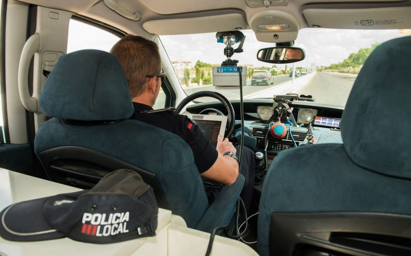 Cartagena police mobile speed trap locations 16th to 22nd October