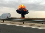 Murcia pilot dies as F-18 fighter jet crashes on take-off in Madrid