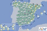 Rain returns to Spain but Murcia is likely to miss out