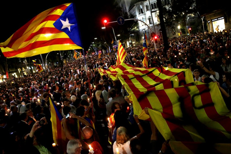 Separatist feelings stirred in Catalunya as the orchestrators of violence are imprisoned