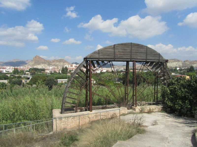 The Noria del Acebuche or de la Algaida, the best preserved water wheel in Archena