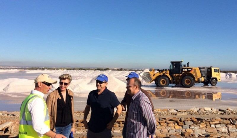 <span style='color:#780948'>ARCHIVED</span> - Up to 100,000 tons of salt is about to be harvested in San Pedro del Pinatar