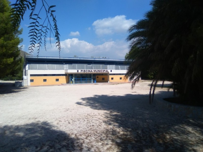 The municipal sports complex of Archena