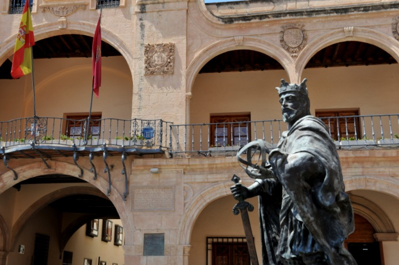 The Casa Consistorial, the Town Hall of Lorca