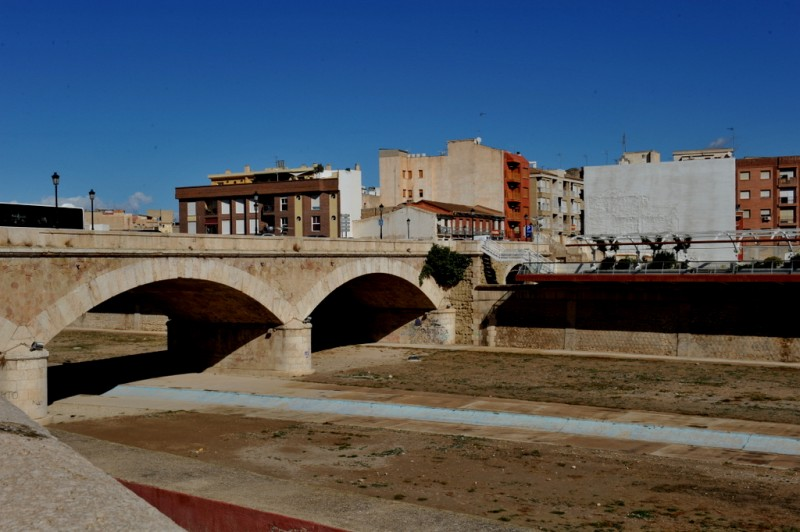The Puente de la Alberca, the main bridge over the Guadalentín in Lorca