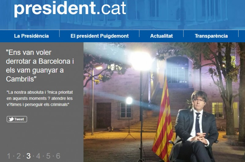 <span style='color:#780948'>ARCHIVED</span> - Former Catalan president evades court appearance in Madrid