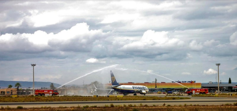 Winter flights to Brussels and Leeds-Bradford inaugurated at San Javier airport