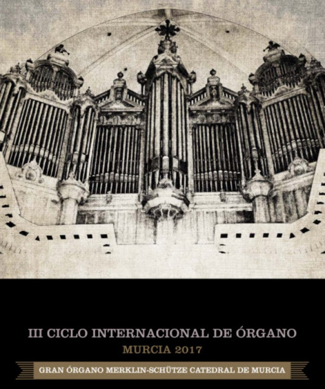 23rd November free organ recital in Murcia cathedral with Daniel Oyarzábal