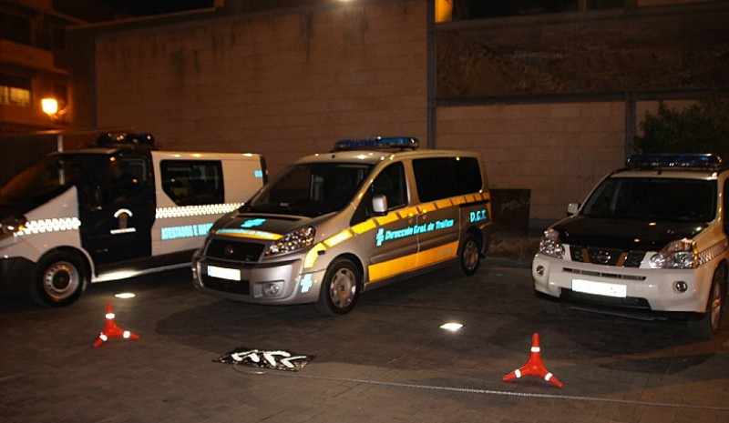 Two drivers detained as Alhama police clamp down on road safety