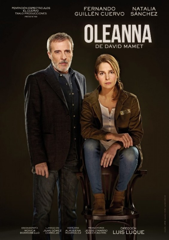 oleanna by david mamet David mamet sat in on a poker game full of thieves and left with the inspiration for oleanna and race 22 david's masterclass has pre-recorded video.