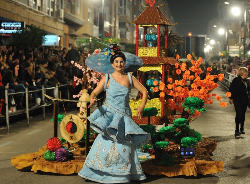 3rd to 24th February 2018 Carnival in Águilas