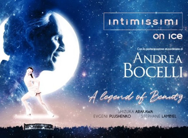 23rd November: Screening of Andrea Bocelli's show Intimissimi on Ice at Las Velas, Los Alcázares