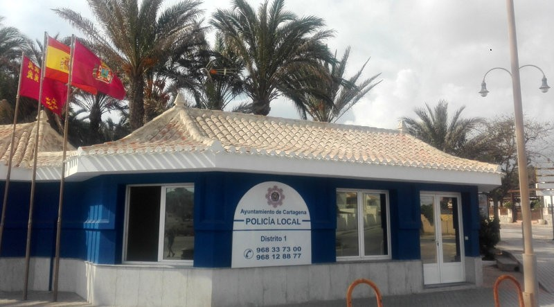 Cabo de Palos police station reopens