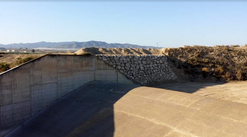 Flood prevention dam repairs completed at El Paretón