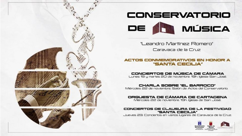 19th, 20th and 22nd November, free chamber music concerts in Caravaca de la Cruz