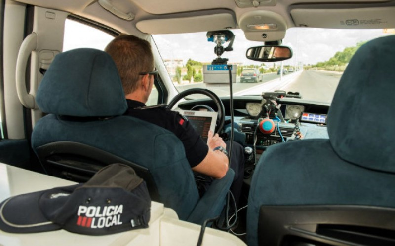 Cartagena police mobile speed trap locations 13th to 19th November