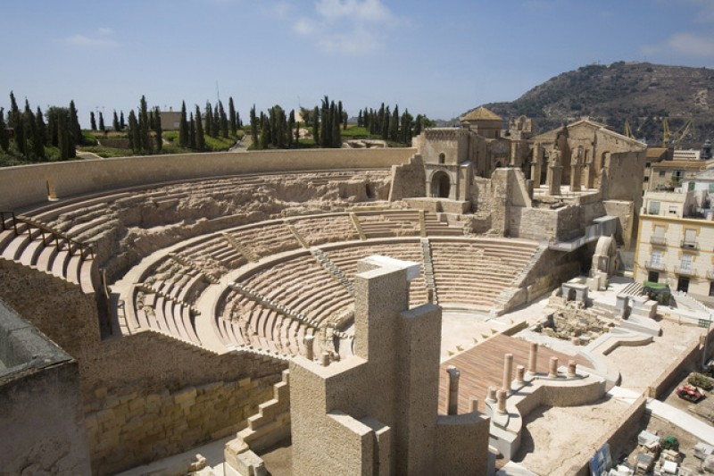 Record visitor numbers at the Roman Theatre Museum in Cartagena
