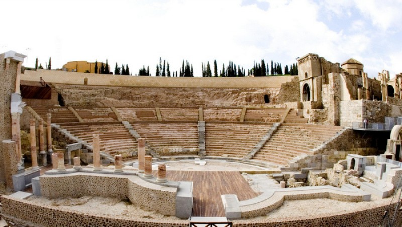 Hyper-realistic virtual reality tours on their way at Roman Theatre Museum in Cartagena