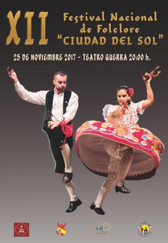 25th November free entry folkdancing festival in Lorca
