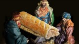 Nativity scene decorations: sausage rolls are out but defecating politicians are acceptable!