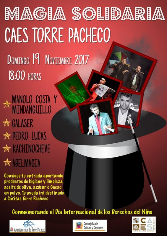 19th November Solidarity Magic Gala in Torre Pacheco