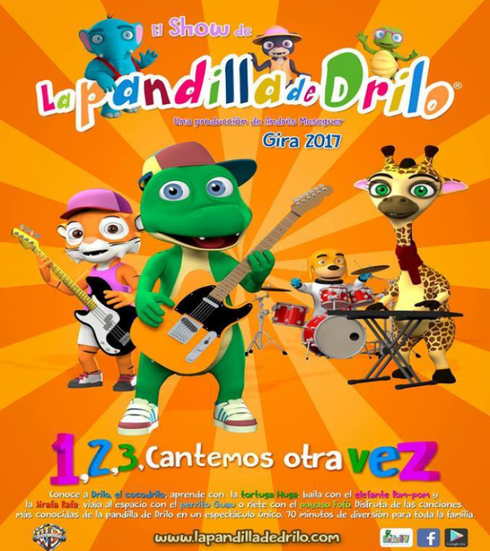 19th November: Children's show La Pandilla de Drilo in San Javier