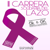 25th November: Fundraising race and walk in aid of victims of domestic abuse, San Javier