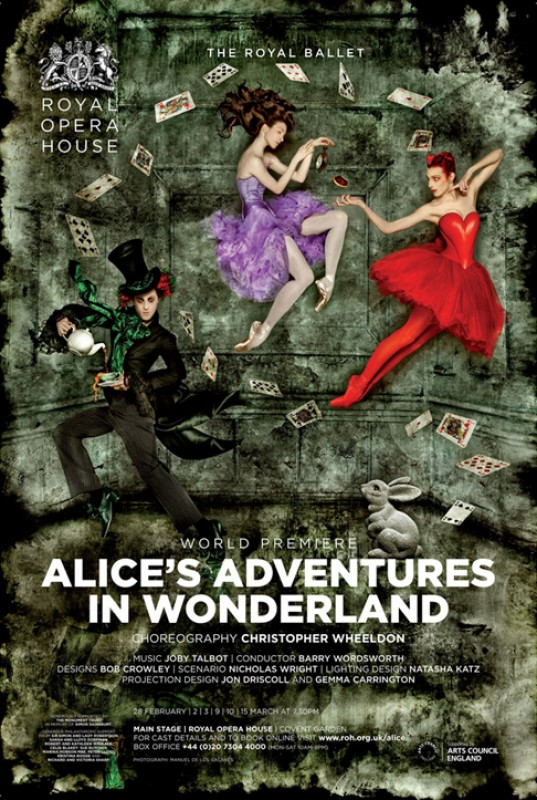 30th November: Alice's Adventures in Wonderland live ballet screening at Las Velas, Los Alcázares