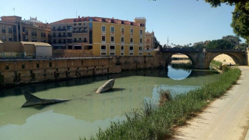 "<span style='color:#780948'>ARCHIVED</span> - Ecologists worried by ""green chocolate"" colour of the River Segura in Murcia"