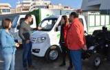 Águilas parks and gardens service presents new pollution-free vehicles