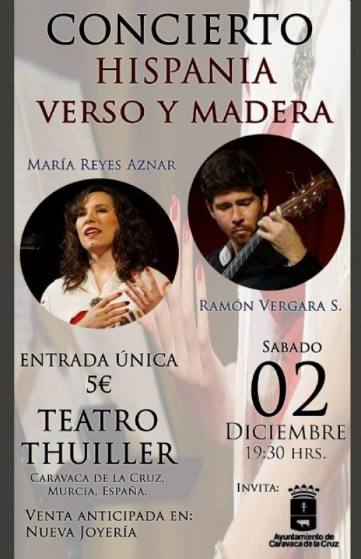 Murcia today 2nd december music and poetry in caravaca - Maderas hispania ...