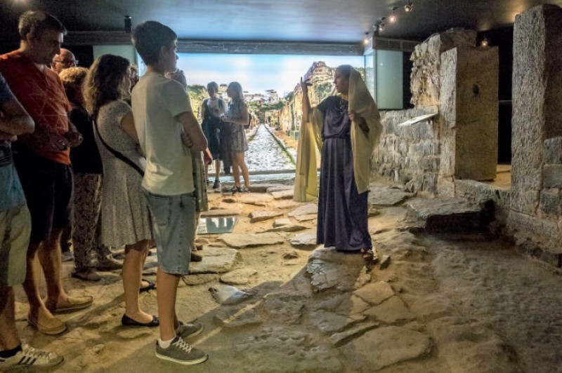 6th to 10th December  holiday weekend tours at the Roman Theatre Museum in Cartagena