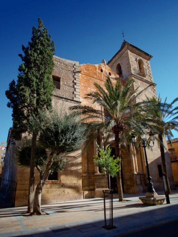 The church of San Mateo in Lorca