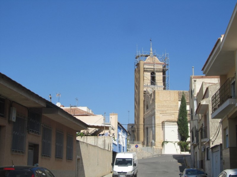 The church of San Juan Bautista in Archena
