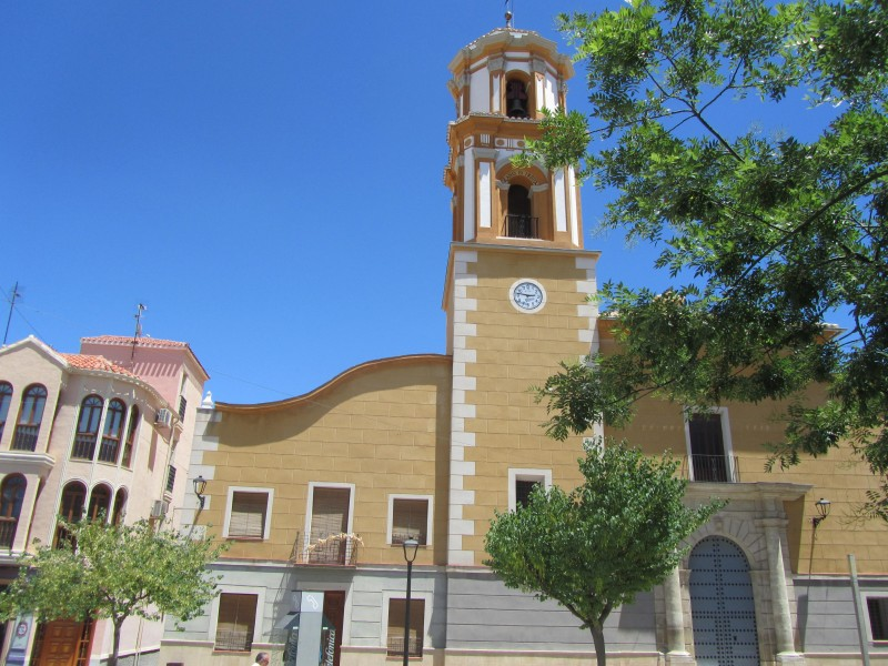 1st, 2nd,6th,8th,9th and 10th December visits to the bell tower of the church in Bullas