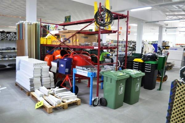 BigMat Fuente Álamo building supplies and hardware