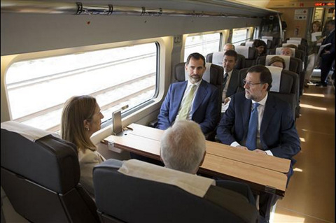 <span style='color:#780948'>ARCHIVED</span> - New Madrid to Alicante high speed train enters service
