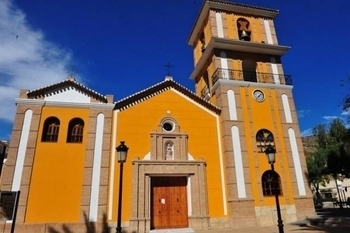 The parish church of La Concepción in Alhama de Murcia