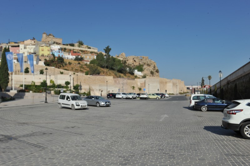 Cut price parking for visitors to Lorca