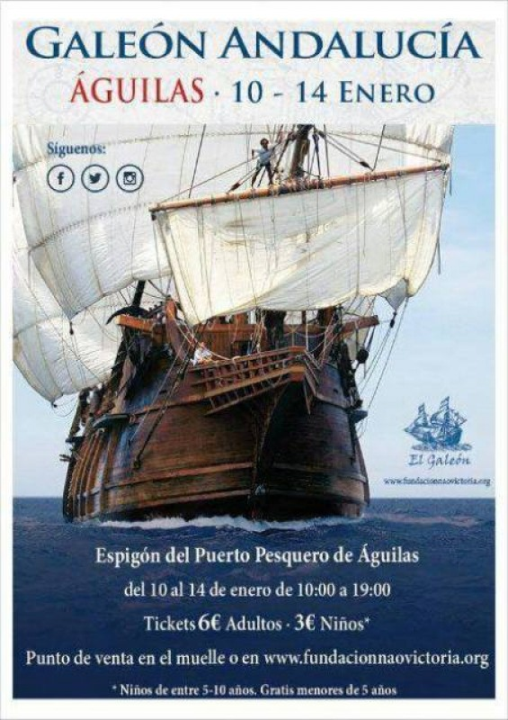 What's on in Águilas during January