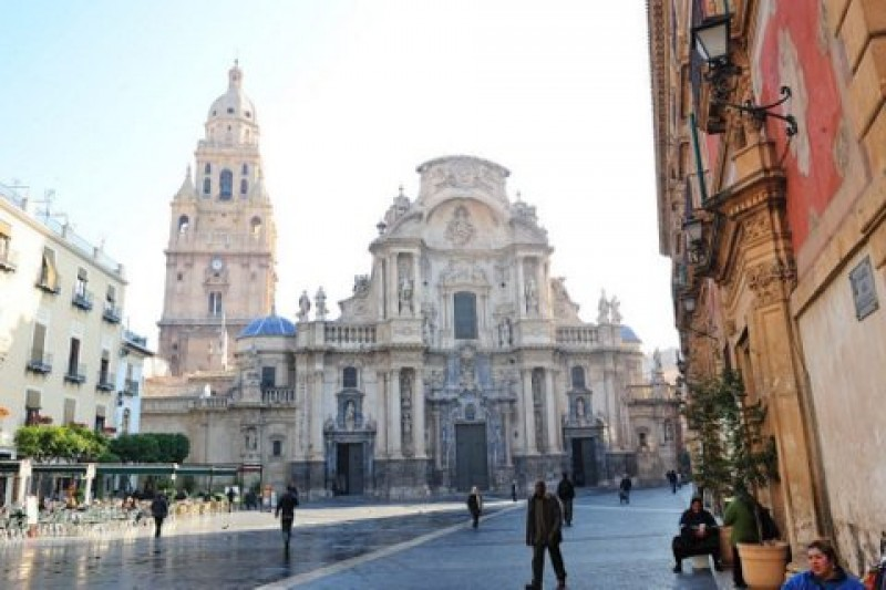Sunday 28th January Murcia City: ENGLISH LANGUAGE TOUR starting at the top of the cathedral tower
