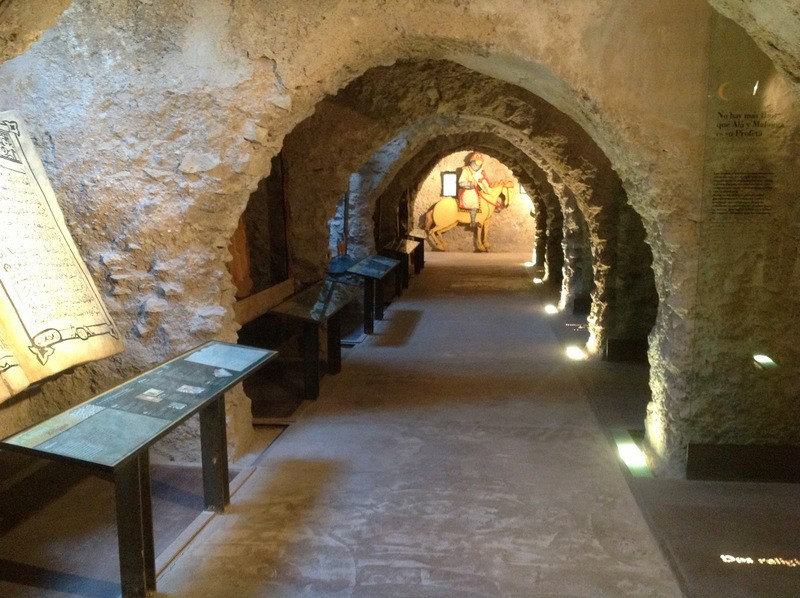 Every Thursday English language tour of Lorca castle with lunch included throughout February 2018